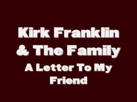 letras de canciones de kirk franklin: