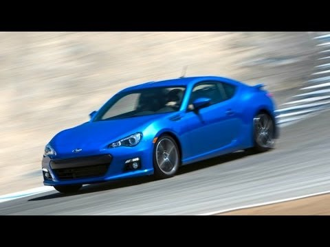 2013 Subaru BRZ Hot Lap! - 2012 Best Driver's Car Contender