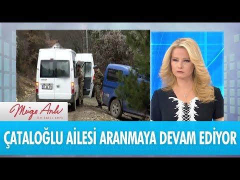 Çataloğlu ailesini arama çalışmaları devam ediyor! - Müge Anlı İle Tatlı Sert 21 Aralık 2017