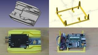 [008] Prototype Enclosures with FreeCAD & OpenSCAD