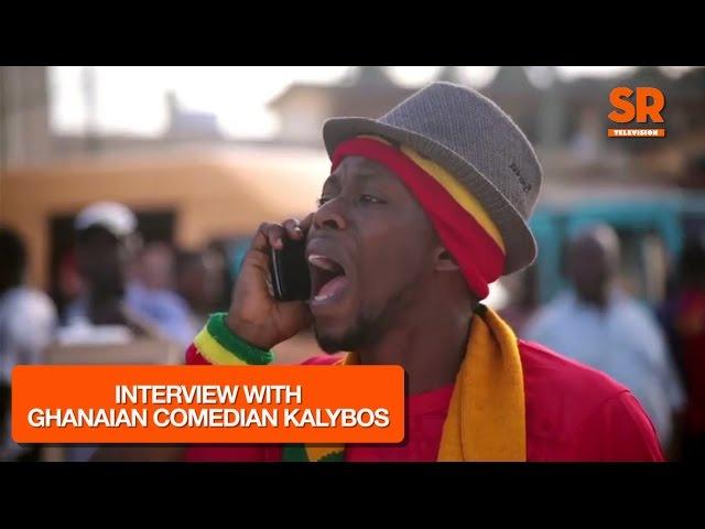 SaharaTv Interviews Ghanaian comedian, Richard Asante aka Kalybos