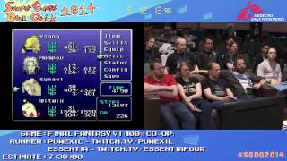 Final Fantasy VI by Puwexil and Essentia in 7:27:49 - SGDQ2014 - Part 168
