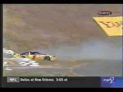 Steve Park Flips at Sears Point 1999