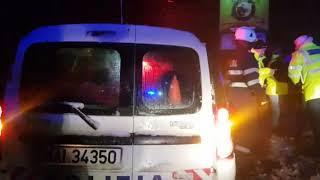 Monitorul de Făgăraş: Accident pe DN! cu autocar
