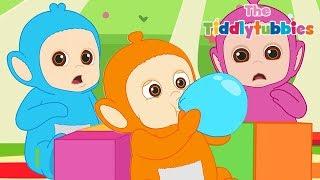 تليتبيز ★ جديد Tiddlytubbies سلسلة الرسوم المتحركة! ★ بالالين ★ رسوم متحركة للأطفال