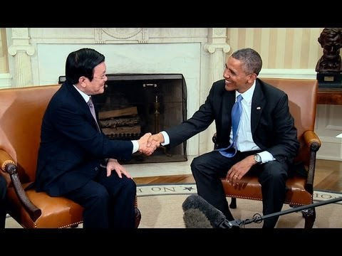 President Obama's Bilateral Meeting with President Truong Tan Sang