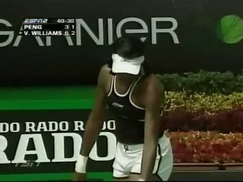 2005 Australian Open R2 Venus Williams vs Peng