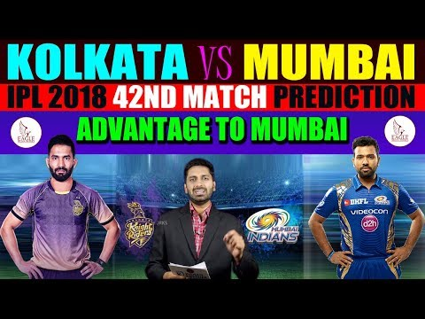 Kolkata Knight Riders vs Mumbai Indians, 41st Match Prediction | Eagle Media Works