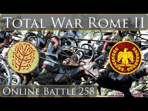 Total War Rome 2 Online Battle Video 258 Massagetae Vs Rome