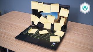Những Thói Quen Xấu khi sử dụng Laptop