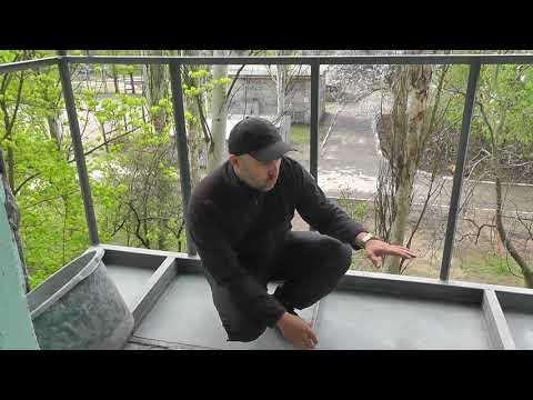 Расширение балкона. Вынос балкона на 60 см. Как сделать теплый балкон совмещенный с комнатой.