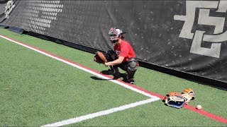 Different types of catching stances