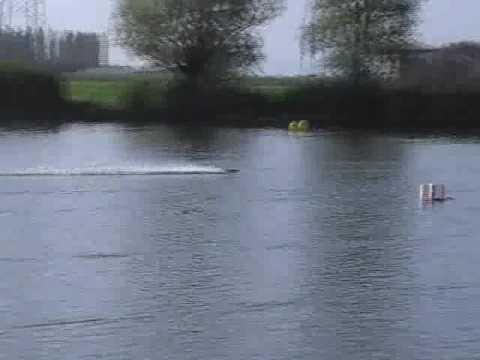RC boat race Italian Championship 2009 hydro1 lipo 2s-3 campogalliano