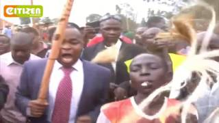 Kiminini MP goes down in dance during Bukusu Circumcision ritual