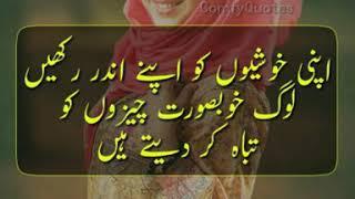 Best Urdu/Hindi Quotes Whatsapp/Instagram Video - Baat Phir Soch Ki 💭 Part 3 by ComfyQuotes