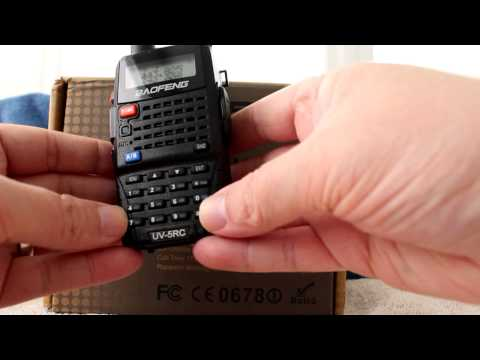 Baofeng UV-5RC Overview