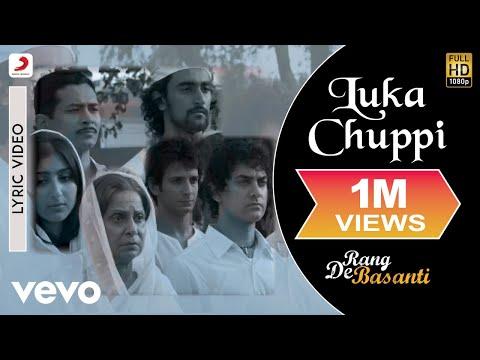 Luka Chuppi - Lyric Video   Rang De Basanti   Lata Mangeshkar