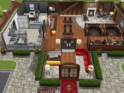 The Restaurant- Sims FreePlay Let's Eat Update