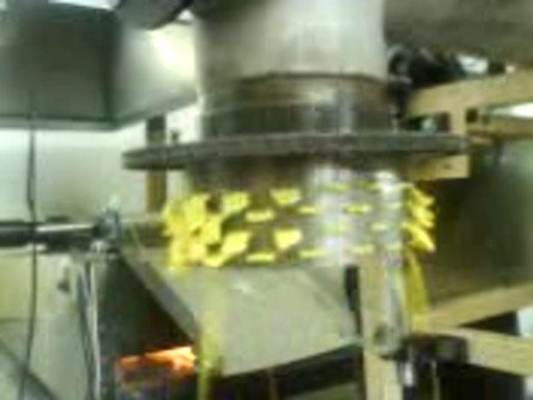 extrusor para hacer frituras de maiz