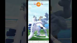 Lugia vs. Machamp C/DP in windy