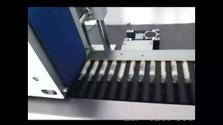 Automatic Sticker Labelling Machine for Test Tubes