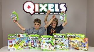 Qixels - Unboxing, playing, and making mistakes :)