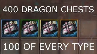 Opening 400 Dragon Chests  |  Guild Wars 2