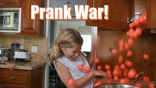 Girls vs. Boys Prank War! #GoGURTPrankWars