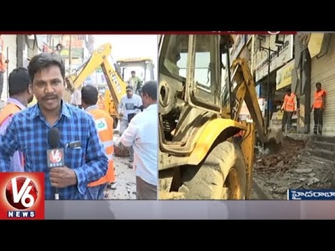 ASP Surender Reddy Face To Face On Encroachments Demolition In Hyd | V6 News