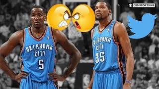 Kevin Durant LOVES Twitter feuds, Kendrick Perkins calls Westbrook Mr. Thunder | CBS Sports HQ