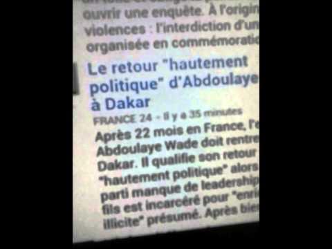 Gambie versus Senegal Abdoulaye Wade
