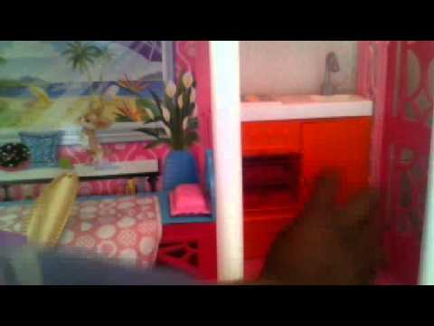 Ma maison barbie 1 youtube - Maison de reve barbie ...