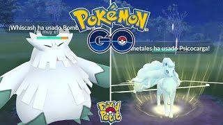 FINAL DEL TORNEO DE LA COPA TEMPESTAD! MÁXIMA TENSIÓN EN CADA PVP! [Pokémon GO-davidpetit]