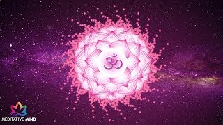 CROWN CHAKRA - Powerful Healing Meditation Music