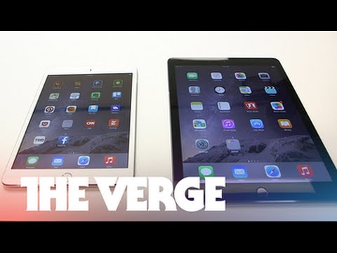 iPad Air 2 and iPad Mini 3 hands-on