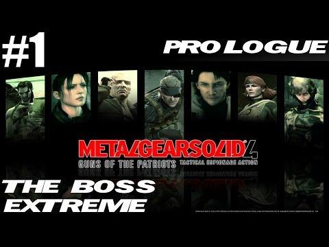 Metal Gear Solid 4 - The Boss Extreme Walkthrough - Part 1 - Prologue video