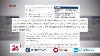 Khủng hoảng của Huawei, ZTE ảnh hưởng đến doanh nghiệp Nhật | VTV24