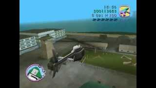GTA Vice City: How to get a Hunter Helicopter[WITHOUT ANY CHEATS]