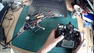 Programming GY550 Gyro Test Flight