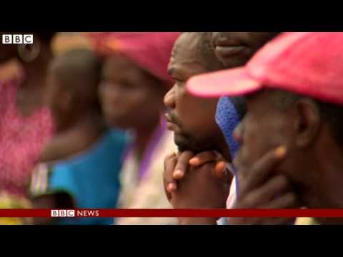 Ebola crisis: BBC visits affected village in Guinea