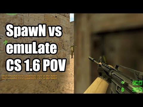 POV: SpawN vs. emuLate @DreamHack CS 1.6 Demo