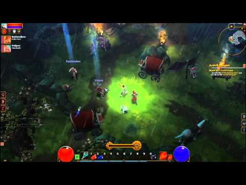 Torchlight 2 Multiplayer Beta Gameplay #1