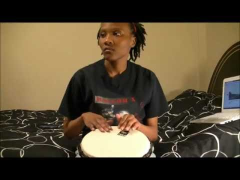 Djembe Practice Session: jesus In Disguise By Brandon Heath [hd] video