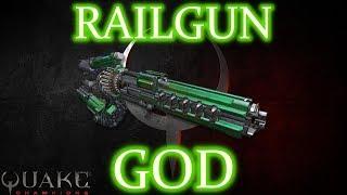 QUAKE CHAMPIONS: RAILGUN GOD - INSANE MATCH
