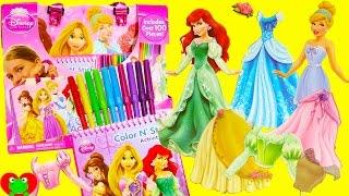 Disney Princess Fashion Activity Tote and Shopkins Season 7 Surprises