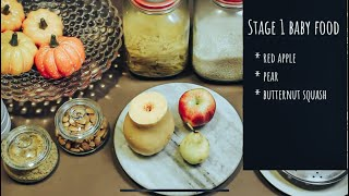 3 Simple First Food Ideas II Stage 1 Baby Food II 6 months And Above