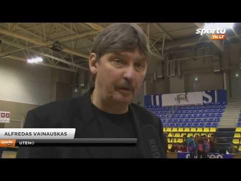 SportoTV.lt: A.Vainauskas: Mūsų komanda nėra aukščiausio lygio, tačiau bandysime išspausti maksimumą
