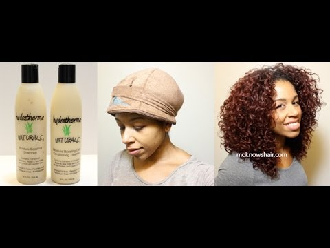 Deep Conditioning With Hydratherma Naturals video