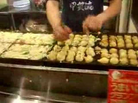 The Osaka takoyaki meister!