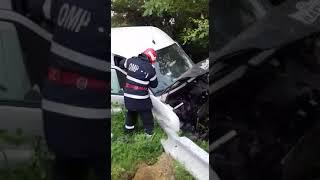 Accident la Plopsoru